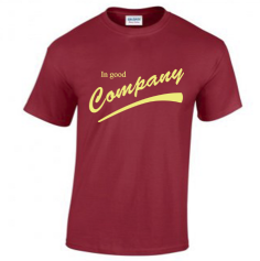 CO 'In Good Company' Maroon T-shirt